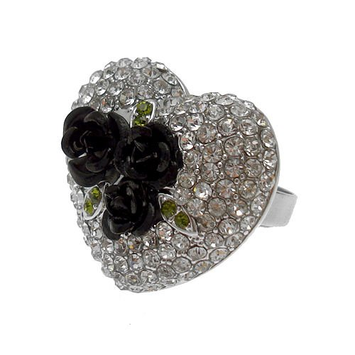 acosta-rosa-negra-corazon-de-cristal-ajustable-del-anillo-de-la-manera