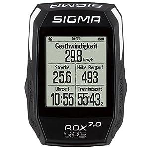 Sigma Sport 01004 ROX GPS 7.0 - Ciclocomputador, Color Negro, Talla Única