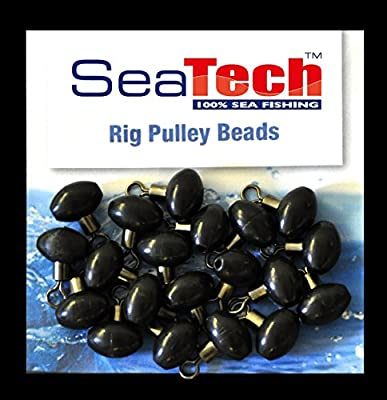 Bulk Buy 2 Packs Of Seatech Sea Fishing Swivel Pulley Rig Beads from Seatech
