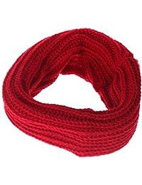 Hengsong Knit Woolen Neck Circle Neckerchiefs Warmer Scarfs Wraps Loop