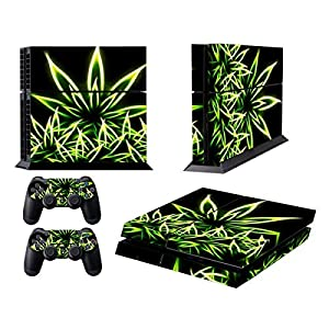 Design Skin Sticker fuer PS4 Playstation 4 Console + Dualshock Controller Decals
