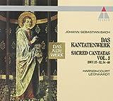 : Bach: Sacred Cantatas, Vol 3 (BWV 37-52, 54-60) / Harnoncourt