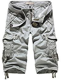 Hakjay Cargo Shorts for Men (Without Belt)
