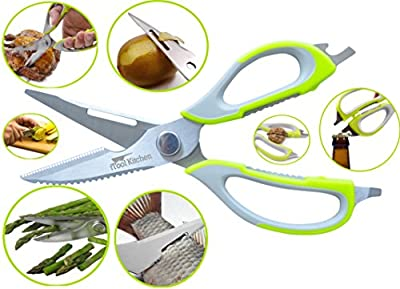 Tim Hawk Multi-Function Food Cutting Scissor - Pack Of 1 (With Free Token)