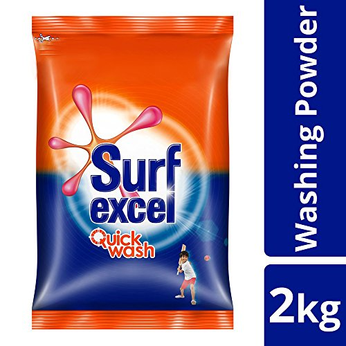 Surf Excel Quick Wash Detergent Powder - 2 kg