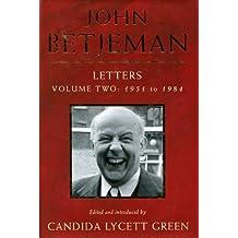 John Betjeman Letters Vol. 2, 1951 to 1984: 1952 to 1984 by John Betjeman (1995-10-02)