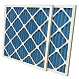 "US Home Filter SC40-10X20X1 MERV 8 Pleated Air Filter (12 Pack), 10"" x 20"" x 1"""