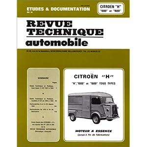 Revue technique Automobile 230.3 Citroen H 1000 et 1600 Essence (1950/1982)