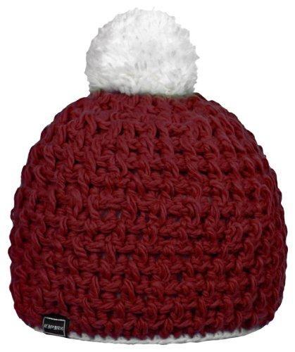 ICEPEAK Damen Hut, Mütze Tytti, Klassisch Rot (650), One size, 855810579I (Stirnband Klassisches)