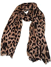 05cd2f5f247 Echarpe en mousseline de soie extra-large de luxe - Echarpes à imprimé  animal pour
