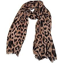 dbfda4f2fe7 Echarpe en mousseline de soie extra-large de luxe - Echarpes à imprimé  animal pour
