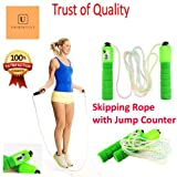 UniqOutlet jumping rope || skipping rope with counting meter