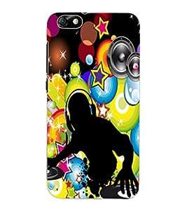 ColourCraft DJ Design Back Case Cover for HUAWEI HONOR 4X