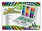 Royal Brush Manufacturing Company Art Adventure 120-Piece Art Set
