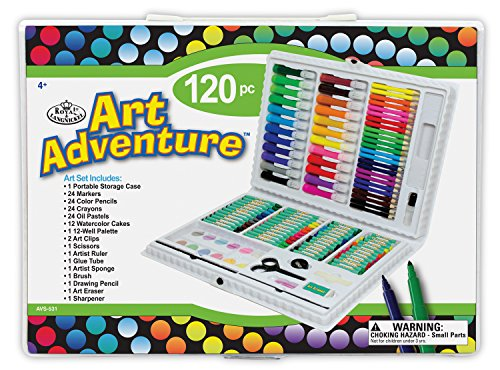 Royal & Langnickel Adventure Set - Set dibujo pintura