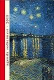 Agenda giornaliera sedici mesi 2018-2019 - cm 11x16.2 Starry night. Van Gogh