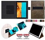 reboon Hülle für LG G Pad II 10.1 Tasche Cover Case Bumper | in Braun Wildleder | Testsieger