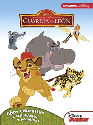 La Guardia del León (Libro educativo Disney con actividades y pegatinas)