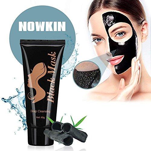Black mask, Blackhead maske, Peel off mask, Schwarze maske, Gesichtsmaske mitesser, Mask schwarz, Mitesserentferner maske, Natürliche Aktivkohle-Inhaltsstoffe, Tiefenreinigung, Gut für die Haut