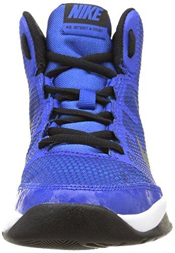 Nike Air Without A Doubt (Gs) Scarpe Da Corsa, Ragazzo Game Royal/Rflct Slvr-Wht-Blck