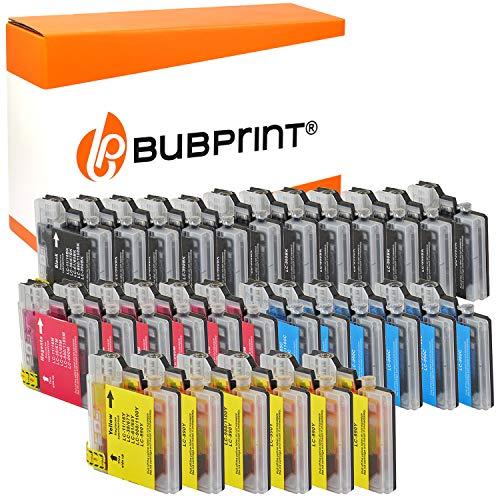 30 Bubprint Druckerpatronen kompatibel für Brother LC-1100 LC-980 für DCP-145C DCP-195C DCP-165C MFC-250C MFC-490CW MFC-5490CN MFC-5890CN MFC-6490CW -