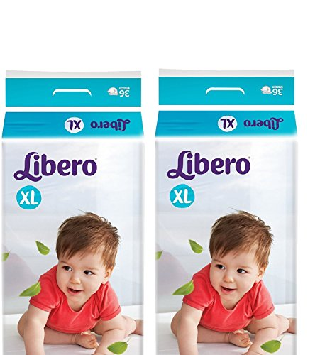 Libero Open Extra Large Size Diaper - Pack Of 2