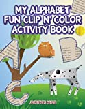Best Jupiter Kids Kid Books For 4 Year Olds - My Alphabet Fun Clip n' Color Activity Book Review