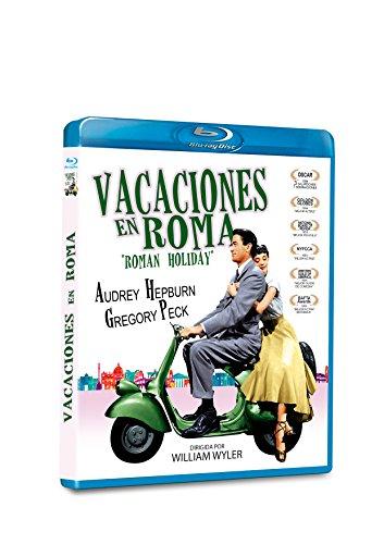 Vacaciones en Roma BD 1953 Roman Holiday [Blu-ray]