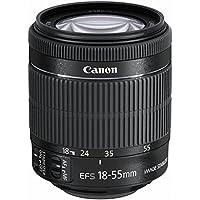 Canon Obiettivo Zoom Universale, EF-S 18-55 mm 1:3.5-5.6 IS, 58 mm, Stabilizzato