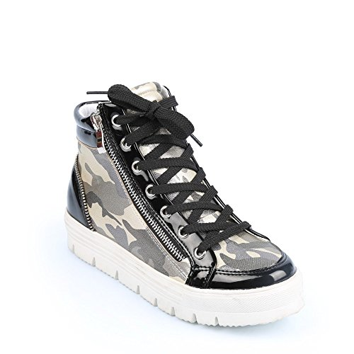 Ideal-Military Judy Shoes Chucks Schwarz - Schwarz