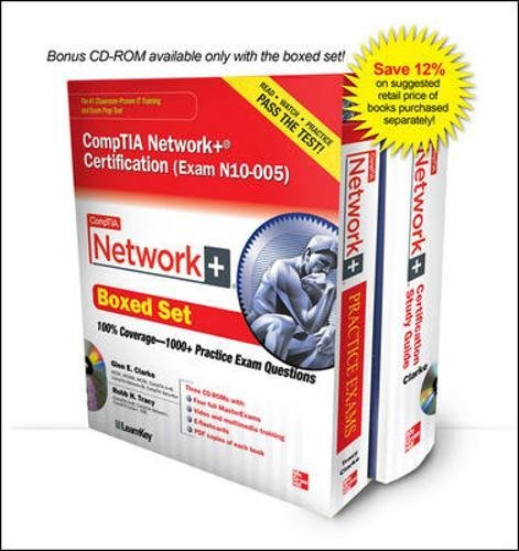 CompTIA Network+ Certification Boxed Set (Exam N10-005) (Comptia Recommended) por Glen E. Clarke