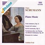 Schumann, C.: Piano Music