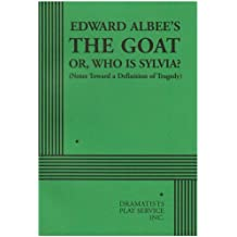 The Goat or Who Is Sylvia?: Notes Toward a Definition of Tragedy