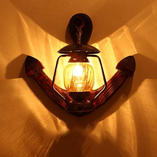 Wunderschönen Amerikanischen Land Wandleuchte Massivholz Schmiedeeisen Bar Beleuchtung Lampen 5-10 Quadratmeter Schlafzimmer Esszimmer Veranda Flur Machen Sie Ihr Zuhause luxuriöser -