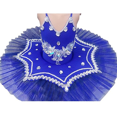 Hübscher Tanzkleid Kinder Ballett Rock Tutu Prinzessin Kleid Kostüme Dancewear, C