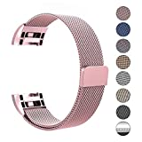 Swees für Fitbit Charge 2 Milanese Edelstahl Armband, Small-Large (5.5