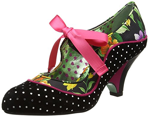 Poetic Licence by Irregular ChoiceSchools Out - Scarpe con Tacco donna , multicolore (Multicolour (Black Floral)), 39