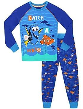 Disney Buscando a Dory - Pijama para Niños - Dory y Nemo - Ajuste Ceñido