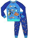 Alla ricerca di Dory - Pigiama a maniche lunga per ragazzi di Dory e Nemo - Vestibilitta Stretta - 3 a 4 Anni