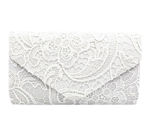 Spitze Umschlag Geldbeutel Damen Abendtasche Abend Beutel Hochzeits Braut Brautjungfern Tasche Kupplung