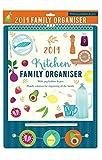 Tallon 2019 Küchenplaner - Familienkalender mit Klammern & Stift -0026 Home (Englische Version)