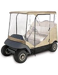 TOMSHOO 4-Sided Cubierta de Carro de Golf Bolsas de Carro para 2 Personas
