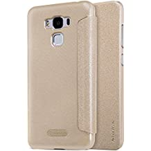 MYLB PU funda case cubierta cover para Asus ZenFone 3 Max ZC553KL 5.5 pulgada smartphone (Champagne oro)