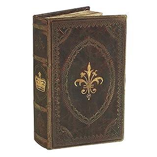 zeitzone Hohles Buch mit Geheimfach Barock Buchversteck Antik-Stil 21x12,5cm