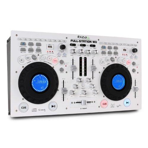 Set Ibiza Full-Station DJ doppio lettore CD Mixer USB