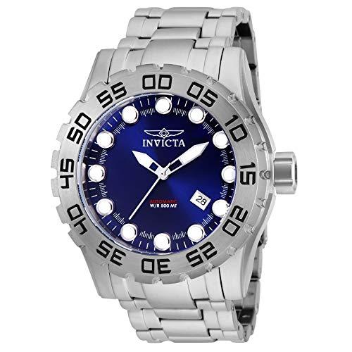 Invicta Men's Pro Diver Steel Bracelet & Case Automatic Blue Dial Watch 25091