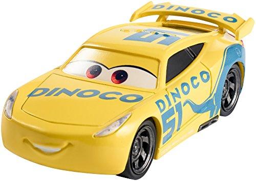 Mattel Disney Cars DXV71 3 Die-Cast Dinoco Cruz Ramirez - Cast Die Fahrzeuge