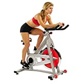 Sunny Health & Fitness Unisex Adult SF-B901 Indoor Exercise Bicycle - Grey, M