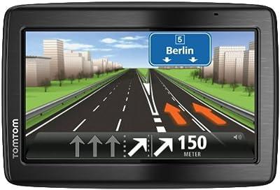 TomTom VIA 135Europe Traffic-Sistema de navegación GPS (13cm (5pulgadas) pantalla táctil, Speak y Go, manos libres, Bluetooth, IQ Routes, TMC, Europa 45)
