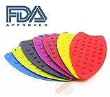 #6: Baskety Silicone Iron Rest Ironing Pad Hot Mat Ironing Holder Ironing Insulation Boards (Random Color)